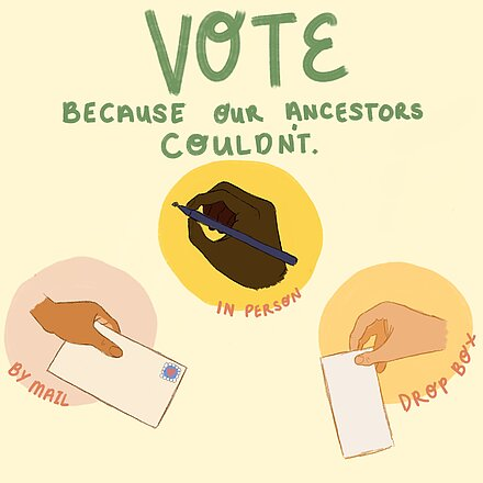 Vote Because Our Ancestors Couldn't by Alyssa Masaquaptewa